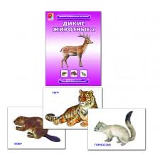 Дикие животные 2. Демонстрационный материал