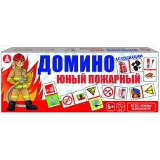 Игра домино ассоциации «Юный пожарный»