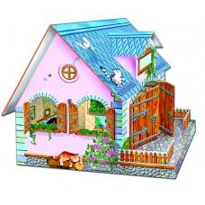 Кукольный домик с мебелью 2